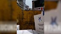Küçükçekmece Belediyesinin gıda paketlerini çöp arabasıyla dağıttığı ortaya çıktı