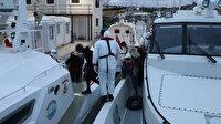 Yunanistan tarafından Türk kara sularına itilen 39 göçmen kurtarıldı