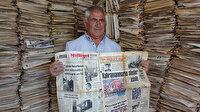 53 yıldır okuduğu gazeteleri biriktiriyor: Bende olan arşiv hiçbir yerde yoktur