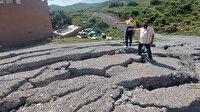 İzmir'de korkutan yarıklardan 6 ev tahliye edildi: Neler olduğunu kimse bilmiyor