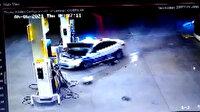 İzmir'de 100 kilometre süren film gibi kovalamaca kazayla bitti: 1 polis yaralandı