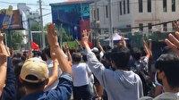 Myanmar'da halkın askeri darbe karşıtı protestoları devam ediyor