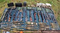 MSB: Pençe-Yıldırım operasyonunda çok sayıda silah ele geçirildi