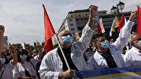 Atina'da binlerce işçi ve memur sokağa döküldü: Orta Çağ iş koşullarına hayır