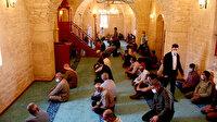 Afrin'de restorasyonu tamamlanan Ömer Bin Hattap Camisi ibadete açıldı