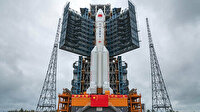 Dünyaya düşmesi beklenen roket hakkında Çin'den açıklama: Herhangi bir zarara yol açma ihtimali düşük