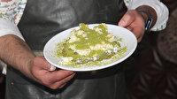 """Kilis'in vazgeçilmez tescilli lezzeti """"cennet çamuru"""" iftarda damakları lezzetlendiriyor"""