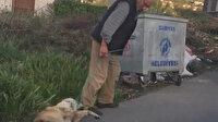 İple boğazından bağladığı köpeğini ciple sürükleyerek çöpe atmıştı: O şahıs serbest bırakıldı