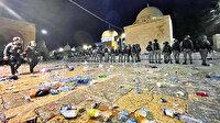 Alçak saldırı: İsrail dün gece Kudüs'te tacizin dozunu artırdı
