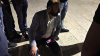Anadolu Ajansı editörü Boyraz İsrail polisinin Mescid-i Aksa'daki müdahalesinde yaralandı