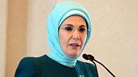 Emine Erdoğan İsrail'in Mescid-i Aksa'ya yaptığı saldırıyı kınadı