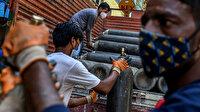 Nepal Hindistan gibi koronavirüsün pençesine adım adım ilerliyor