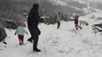 Doğu Karadeniz'de Mayıs'ta yaylalarda kar sürprizi