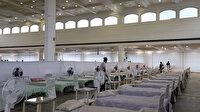 Hindistan'da vaka sayıları artıyor: İbadet alanları hastaneye dönüştürülüyor