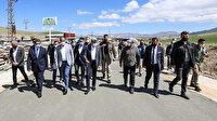 Van Büyükşehir Belediyesi İlk Beton Yol Yapımını Gerçekleştirdi