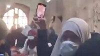 İşgalci İsrail Mescid-i Aksa'daki kadınları hedef aldı