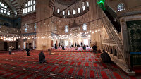 Selimiye'den Mescid-i Aksa için sela ve dualar yükseldi