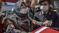 Şehit Piyade Uzman Çavuş Murat Nar'a gözyaşları arasında veda