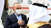 Bakan Çavuşoğlu Mescidi Aksa'daki saldırıları görüşmek üzere Suudi Arabistan'da
