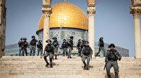 İsrail güçleri Kudüs'teki Şeyh Cerrah Mahallesi sakinlerine destek veren Arap milletvekillerine saldırdı