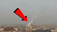 Gazze Şeridi'nden Batı Kudüs'e atılan roketlerin fırlatılma anları