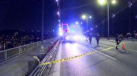FSM Köprüsü'nde 'tek teker' faciası: 250 metre sürüklendi