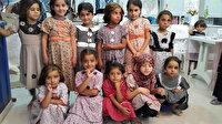 İdlib'de kadınlar ikinci el kıyafetlerden bayramlık üretiyor