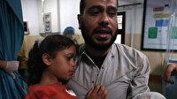 İşgalci İsrail savaş uçakları ile saldırdı: 9'u çocuk 20 kişi şehit oldu