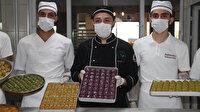 Tam kapanma ile geçecek olan Ramazan Bayramı için 3 bin 500 tepsi baklava siparişi aldılar