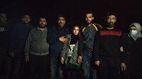 Yunanistan'ın ölüme ittiği 18 düzensiz göçmeni Türkiye kurtardı