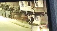 Avcılarda hırsızlar balkona böyle tırmandı