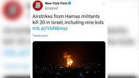 New York Post algılarla oynuyor: İsrail'in 20 kişiyi katletmesini Hamas yapmış gibi gösterdi!