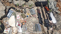 Pençe operasyonlarında PKK'ya ağır darbe: Çok sayıda silah ve mühimmat ele geçirildi