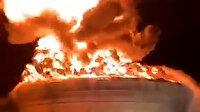 El-Kassam Tugayları İsrail'in petrol boru hattını havaya uçurdu