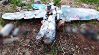Teröristlerden maket uçakla saldırı girişimi: Havada imha edildi