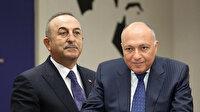 Bakan Çavuşoğlu Mısır Dışişleri Bakanı ile görüştü