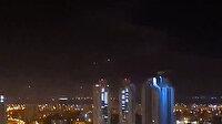 Hamas işgalci İsrail'i roket yağmuruna tuttu