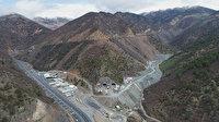 Türkiye ve Avrupa'nın en uzun tüneli Yeni Zigana'da kazı çalışmalarının yüzde 90'a yakını tamamlandı