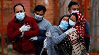 Hindistan'da koronavirüs salgınında yeni rekor: Son 24 saatte 4 bin 205 kişi öldü