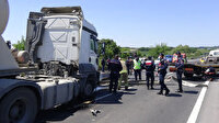 Silivri'de facia ucuz atlatıldı: Jandarma denetim noktasına metreler kala durabildi
