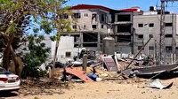 İsrail savaş uçakları Gazze Şeridi'nin kuzeyini ve orta kesimlerini bombaladı