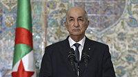 Cezayir Cumhurbaşkanı: Filistin halkı işgal ve gaspa direniyor