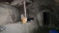'Pençe' operasyonlarında PKK'lıların kullandığı 14 odalı mağara tespit edildi