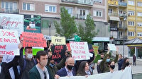 Kosova'dan Filistinlilere destek gösterisi