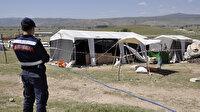 Eskişehir'de mevsimlik tarım işçileri yaşadıkları çadırda karantinaya alındı