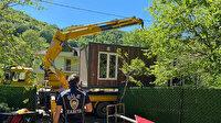 Şile'de kaçak konteyner ve prefabrik evlere zabıta engeli: Tek tek kaldırıldı