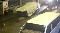 Eskişehir'de hırsızlar kamyoneti sahibinin evin önünden çekiciyle çaldı