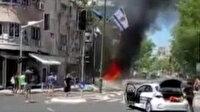 Hamas'tan İsrail'e misilleme: Tel Aviv'de siren sesleri yükseldi