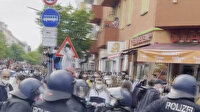 Almanya'da Filistin'e destek için toplanan gruba polis müdahale etti