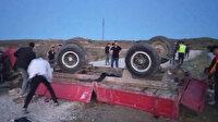 Ankara'da römork devrildi: Ölü ve yaralılar var